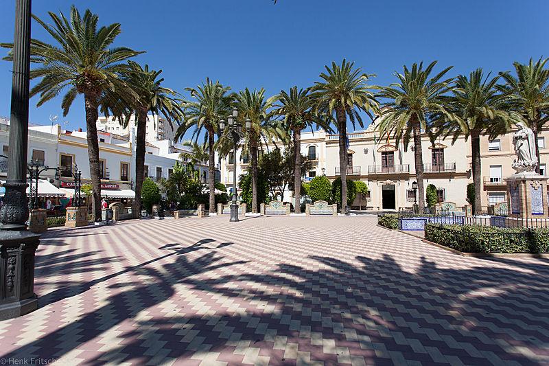 Ayamonte, centrale plein