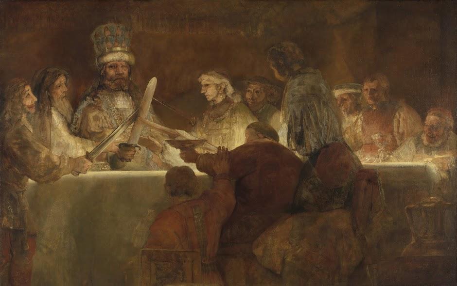 uitsnede 'De samenzwering van de Bataven onder Claudius Civilis'