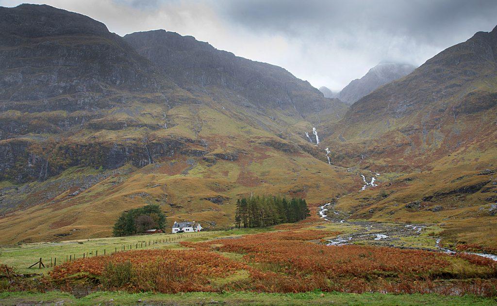 Glencoe near Loch Achtriochtan