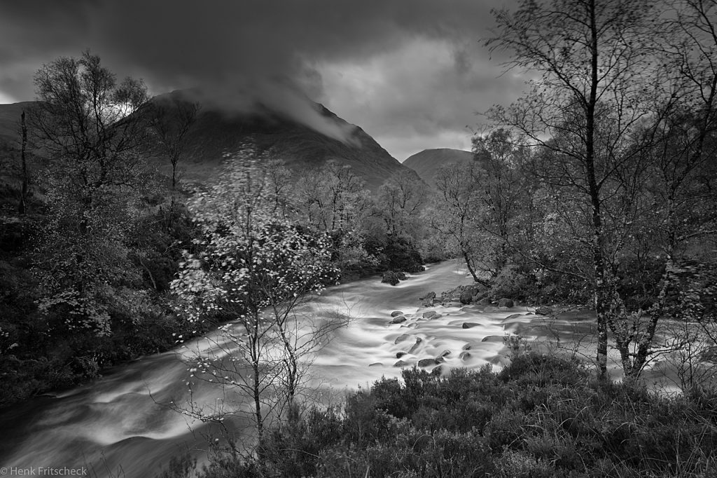 River Coupall meets River Coe 4038 BW